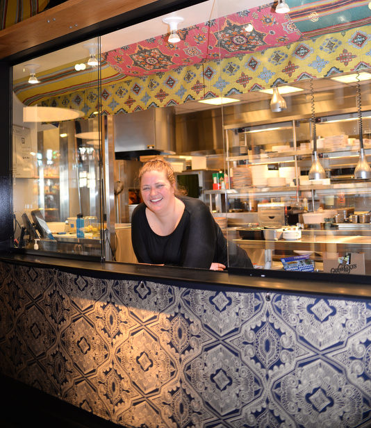 Emmele Herrold is the owner and executive chef of Hazel, Ravines and Downtown in Birmingham.