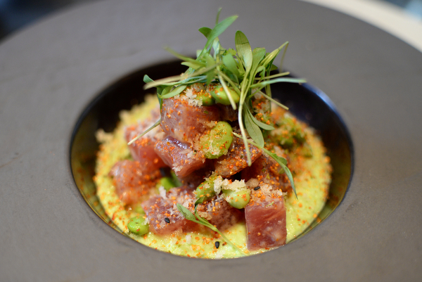 Yellowfin Tuna Poke recipe