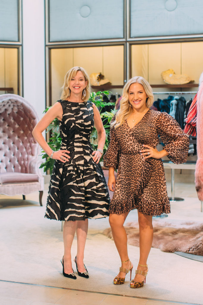 Jennifer Granger and Amanda Fisher of Fashion x Philanthropy
