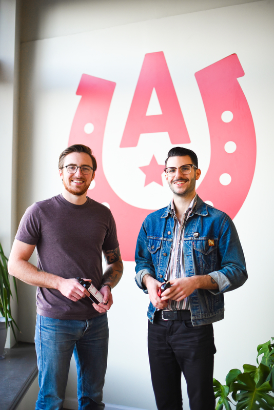 Ace High founders Christian Kettenbeil and Nate Hamood.