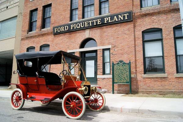 Ford Piquette Avenue Plant tours