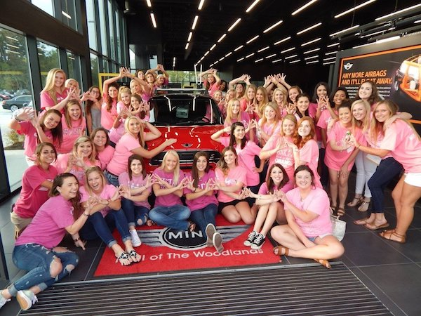 Breast Cancer Charities of America #PinkPose