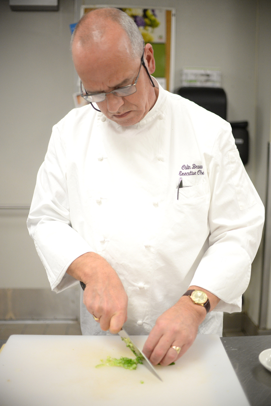Colin Brown, originally from Scotland, is the Executive Chef of Park 600, located in The Royal Park Hotel in Rochester.
