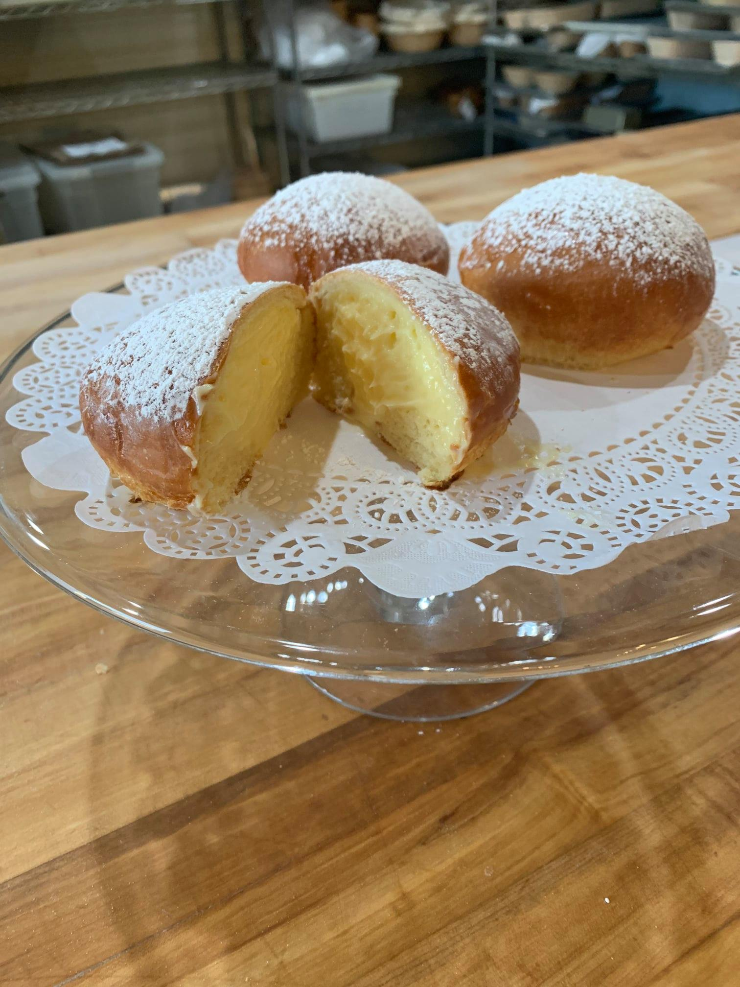 baked paczkis