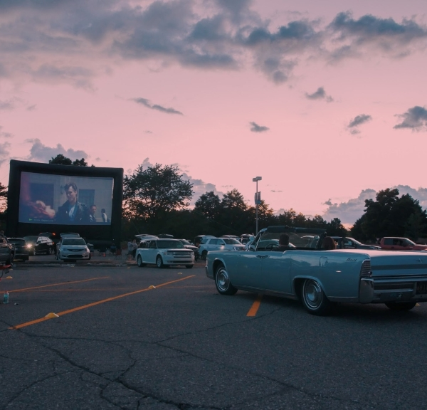The 15-Mile Drive-In Theater