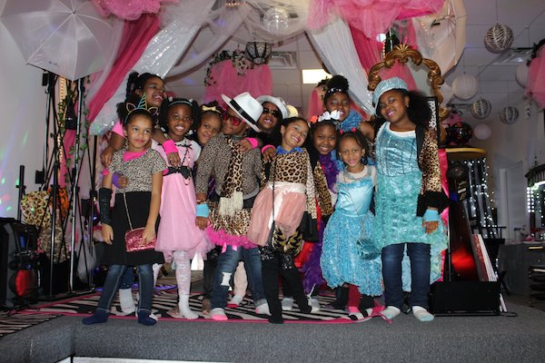 Girls birthday party at Sweet Spots