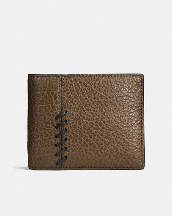 Coach Rip & Repair 3-in-1 wallet