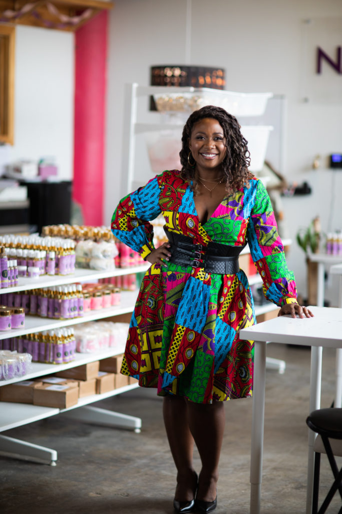 Gwen Jimmere founder of Naturalicious