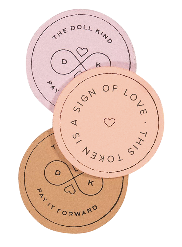 Kind Culture Co., Act of kindness tokens from Talulah Belle