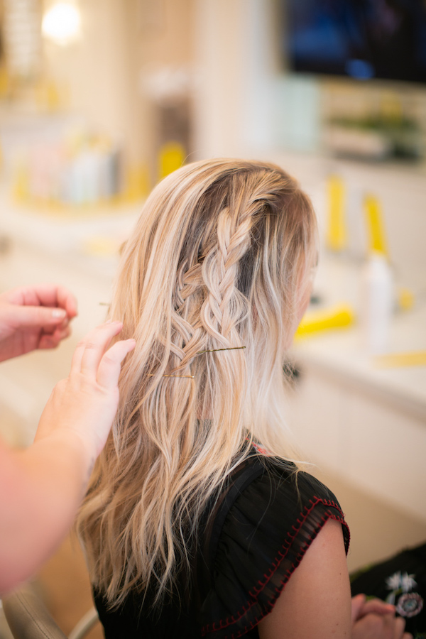 Drybar Mai Tai with Boho Braid