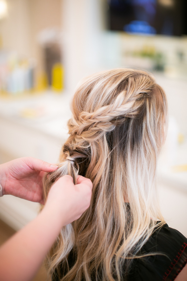 Drybar Mai Tai with Braid