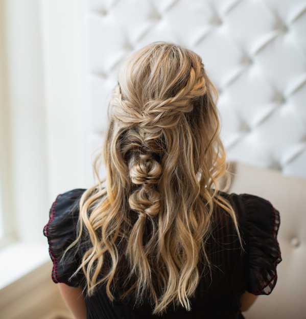 Drybar Mai Tai with Braids