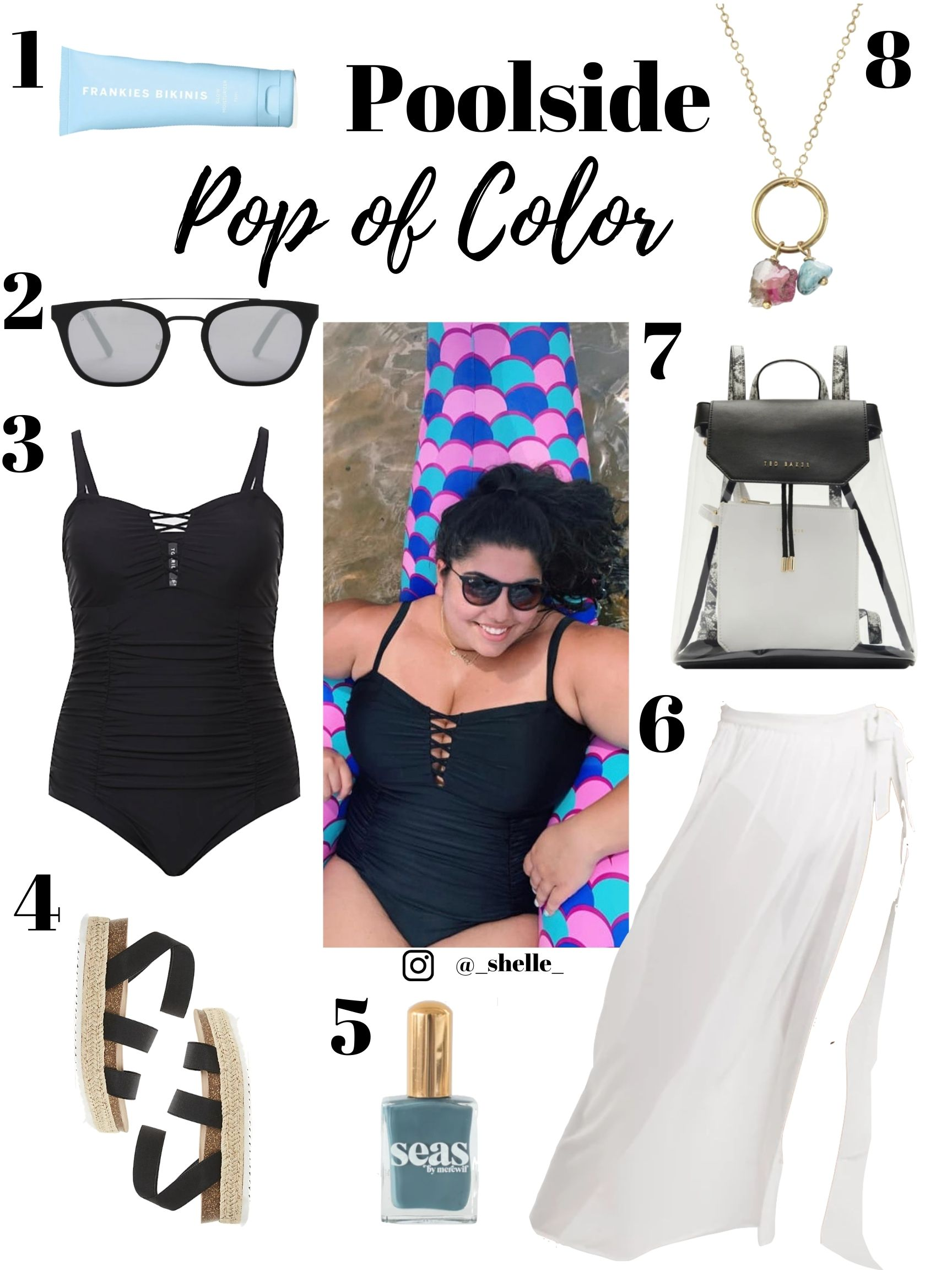 pool outfit