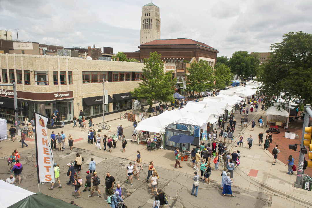 Ann Arbor Street Art Fair 2018