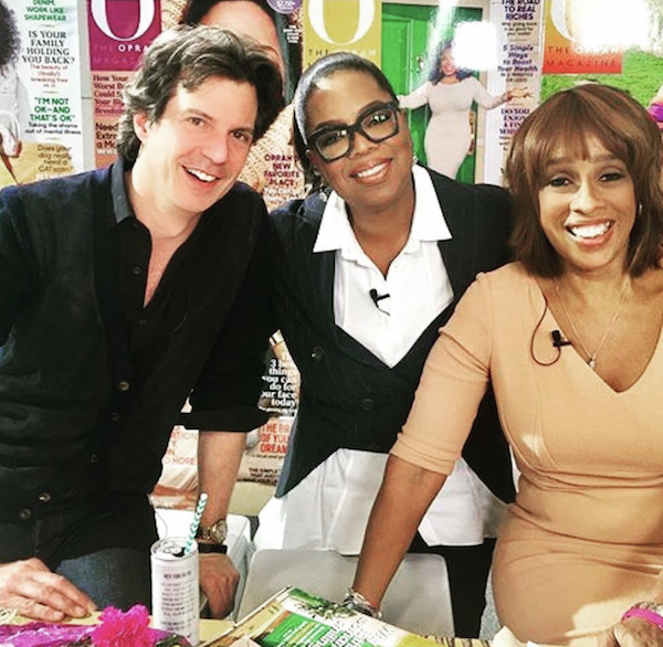 Adam, Oprah, and Gayle