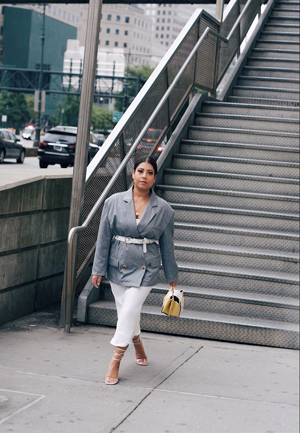 Asima Khan at New York Fashion Week