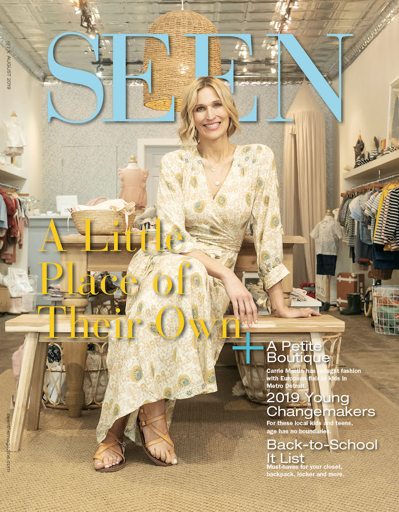 SEEN Magazine August Cover