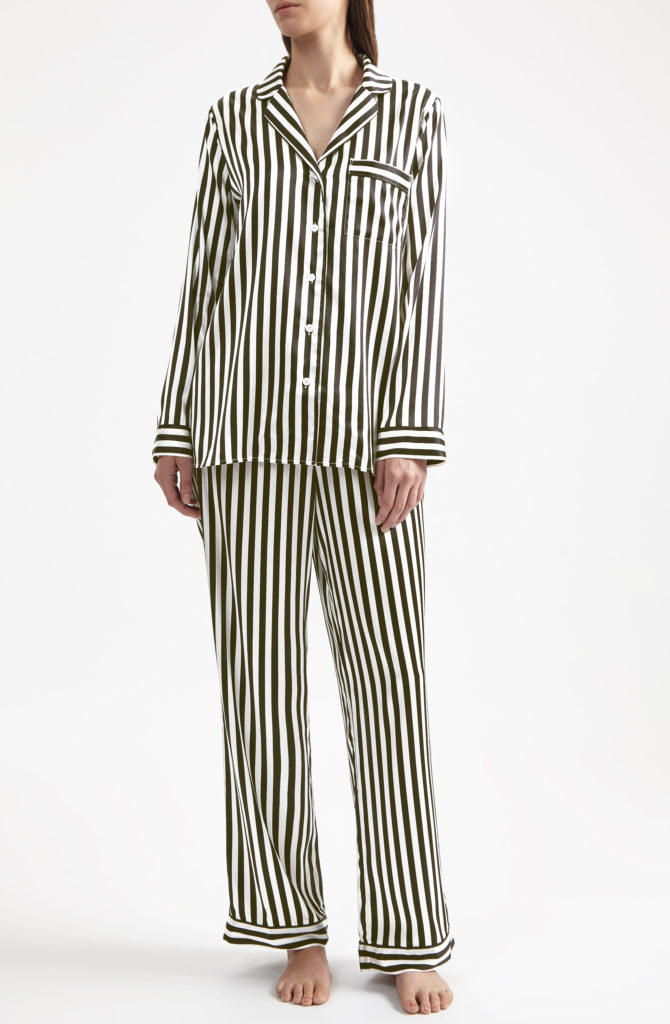 Striped Pajamas from Supernatural Lingerie