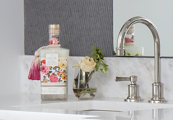 From Lori Karbal: Lollia Luxury bubble bath