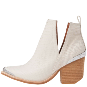 Cromwell ivory Bootie from Sundance Shoes