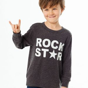chaser boys love knit rockstar