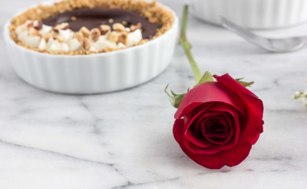 Chocolate Hazelnut Pretzel Tartlet