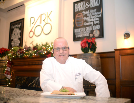 Colin Brown, originally from Scotland, is the Executive Chef of Park 600, located in The Royal Park Hotel