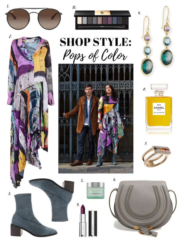 Shop Style: Pops of Color