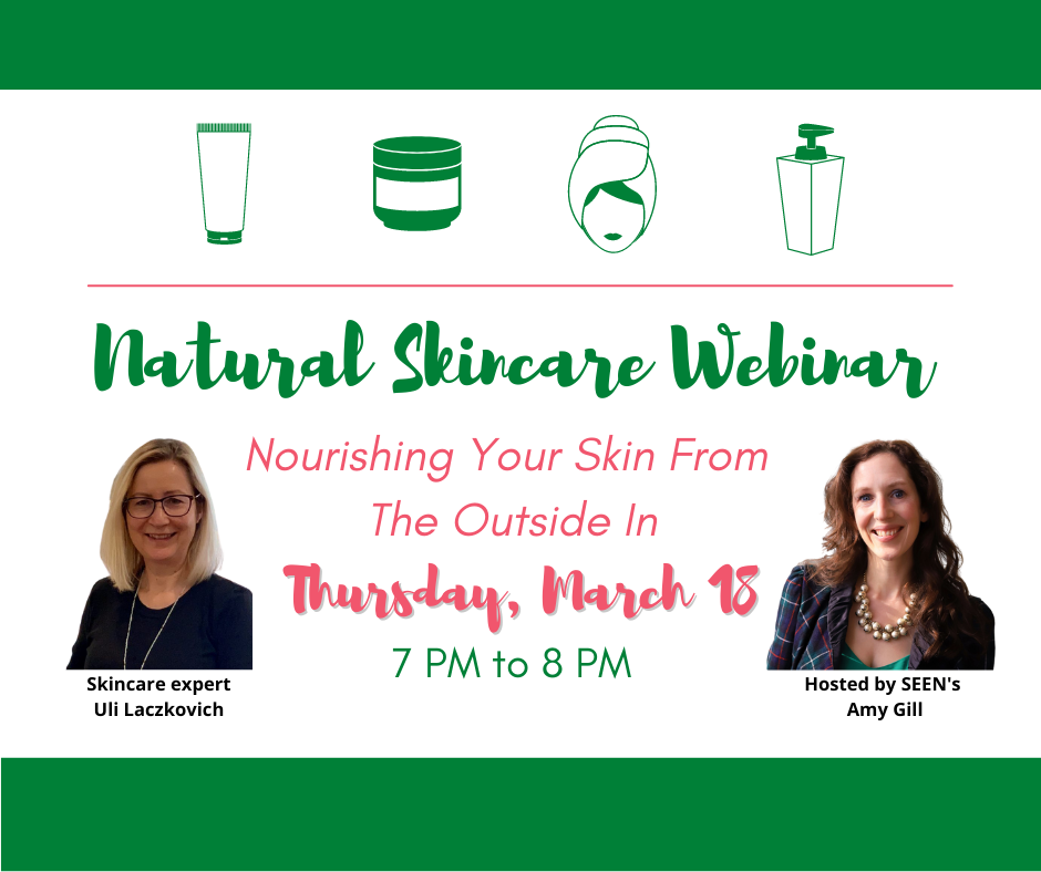 Virtual Event: Guide to Natural Skincare