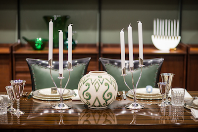 Frankel Holiday Decorating Trends Green and Silver