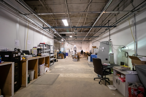 Inside of Genusee's lab in Flint