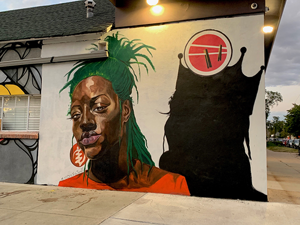Sydney James' murals bring beauty, empowerment and social justice to spaces in Detroit