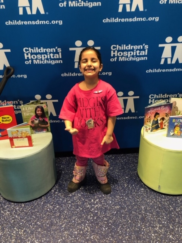 Simran Adnani at Children's Hospital of Michigan