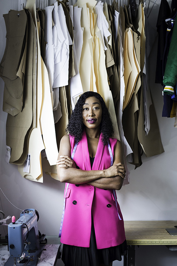 Designer Dom Sutle Is Fulfilling Her Passion Dressing Detroit Athletes Seen Magazine