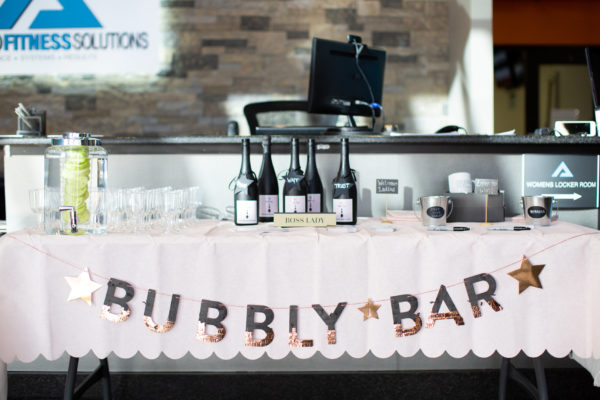 Bubbly Bar at Boss Ladies Referral connect