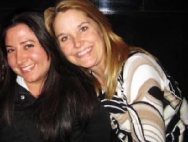 Kelly Hartman with Heather Feldkamp
