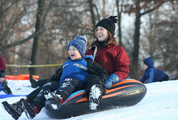 Best sledding hills in Metro Detroit