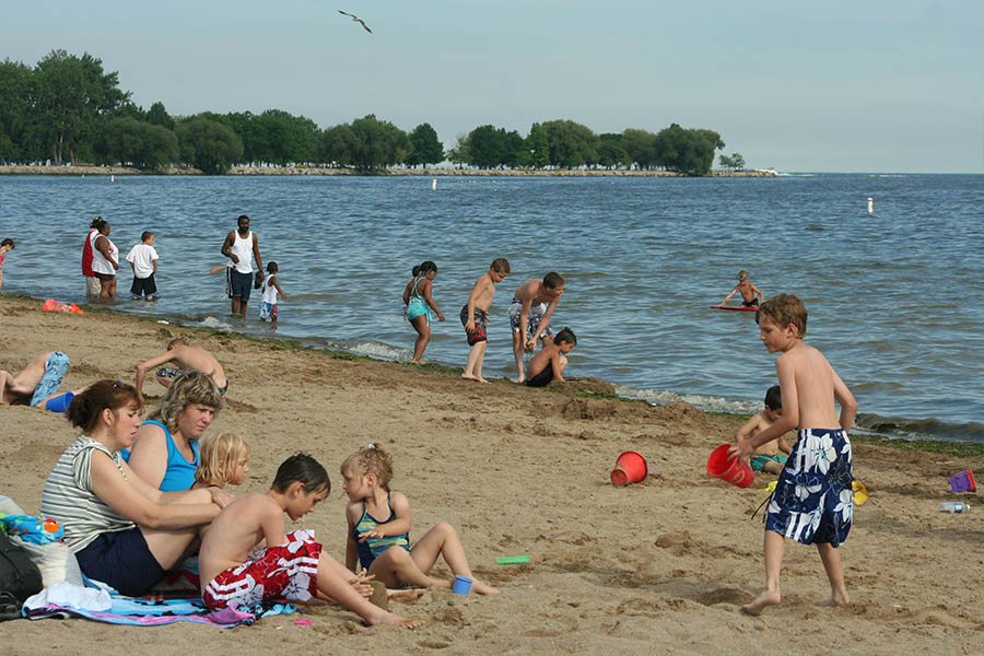Metro Detroit beaches