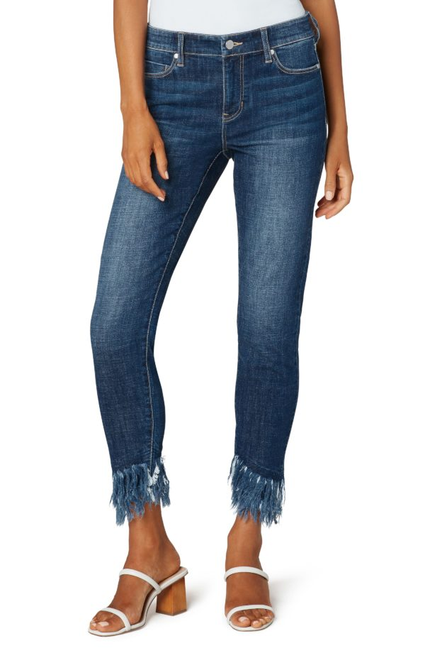Double Fray Jeans by Liverpool