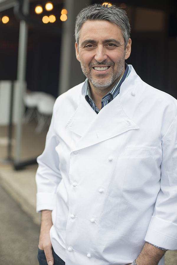 Luciano DelSignore, chef/owner of Pernoi