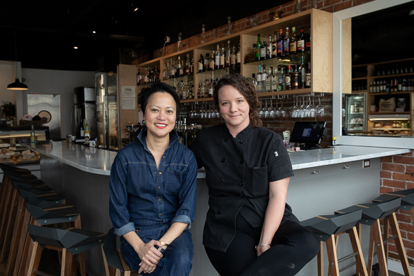 Sarah Welch and Ping Ho of Marrow Detroit