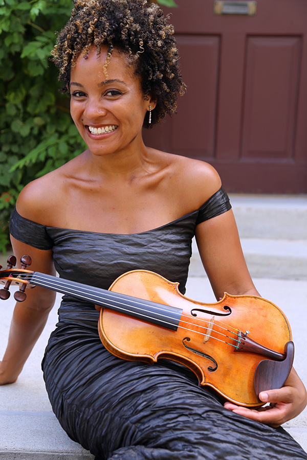 Violinist Melissa White of Sphinx Virtuosi