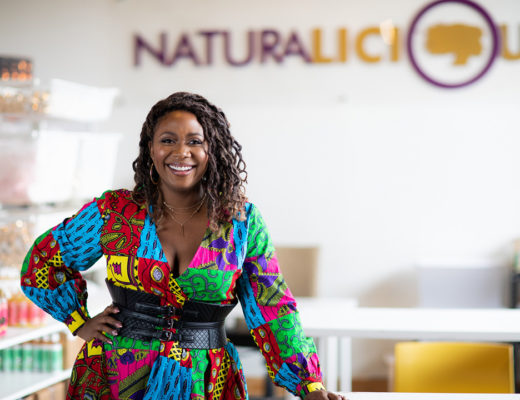 Naturalicious founder Gwen Jimmere