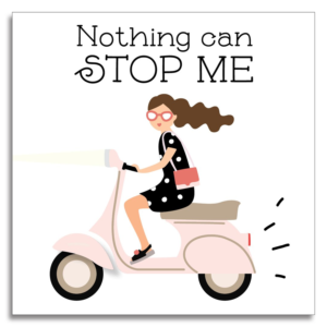 NOTHING CAN STOP ME CARD from Small Moments