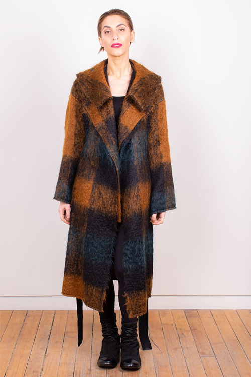 Forme d'expression Layered Cloak from Orleans + Winder
