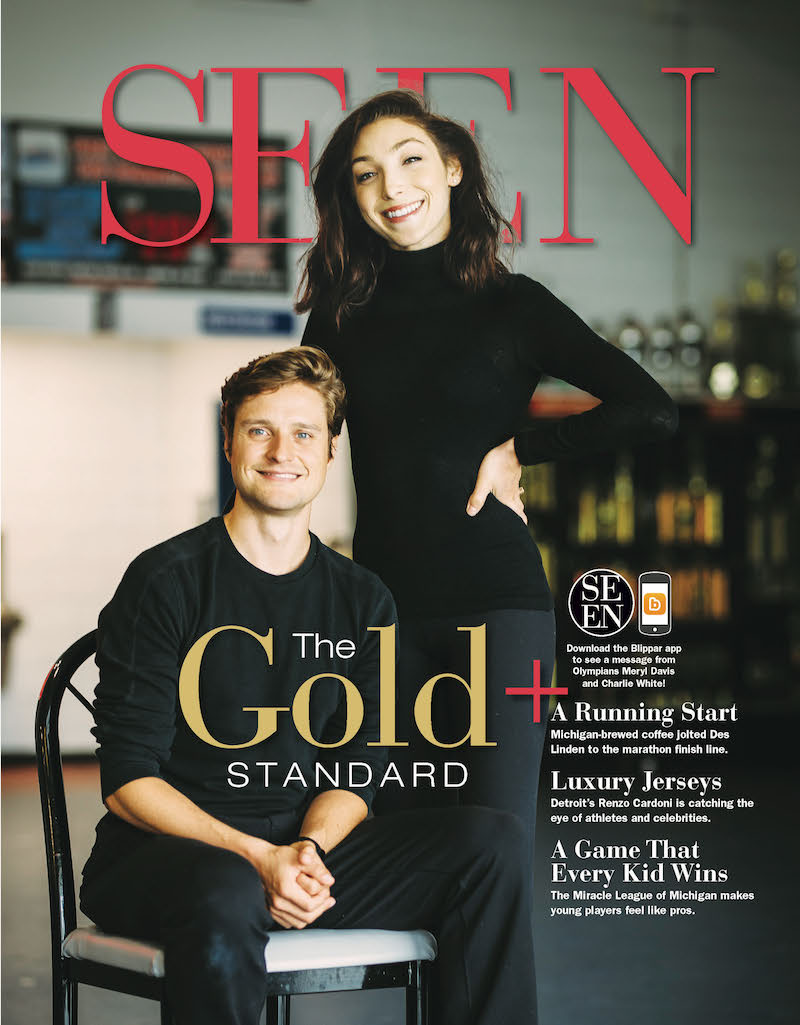 Meryl Davis and Charlie White SEEN Magazine Cover