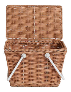 Treat Dad to a picnic with this cute Olli Ella Piki Basket from Petite Cabane