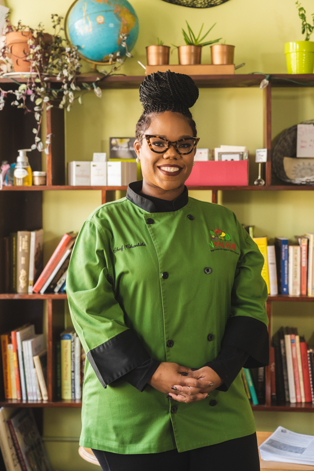 VDaLish Chef and Owner Chantele Jones