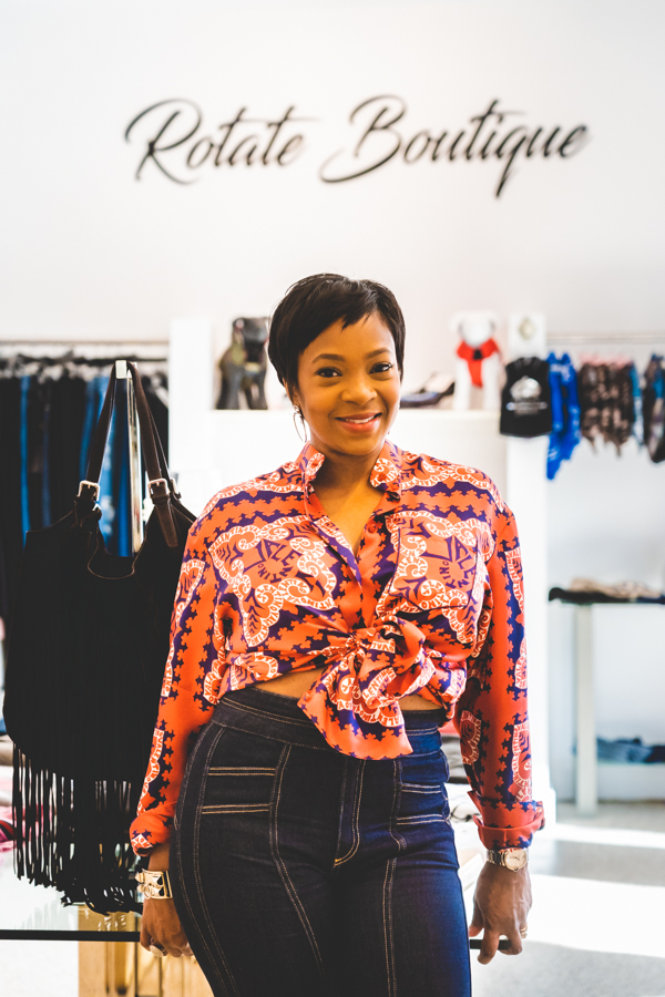 India Shepherd owner of Rotate Boutique
