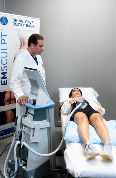 Emsculpt at Star Plastic Surgery